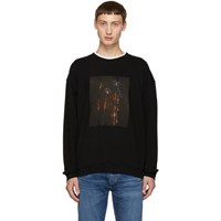 Adaptation Black Palm Fire Sweatshirt