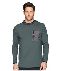 Quiksilver Waterman Explorer Technical Hoodie Urban Chic Sweatshirt Gray