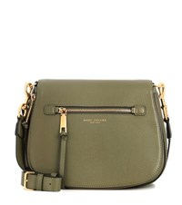 Marc Jacobs Recruit Small Nomad Leather Shoulder Bag Green