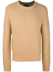 3.1 Phillip Lim Crew Neck Jumper Nude And Neutrals
