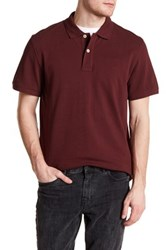 Timberland Short Sleeve Regular Fit River Polo Red