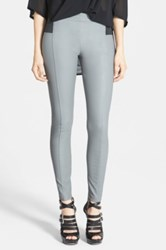 Glamorous Faux Leather Leggings Juniors Gray