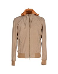 Umit Benan Coats And Jackets Jackets Men Sand