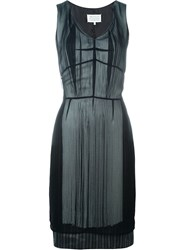 Maison Martin Margiela Maison Margiela Layered Fringe Dress Black