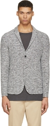 Robert Geller Grey Marled Richard Blazer