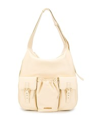 Jacquemus Oversized Shoulder Bag Neutrals