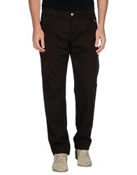 Dog Fox Trousers Casual Trousers Men Dark Brown