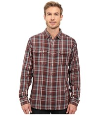 Kuhl Shatterd Long Sleeve Shirt Brick Men's Long Sleeve Button Up Red