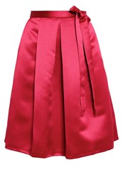 Closet Aline Skirt Red