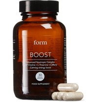 Form Nutrition Boost Supplement 30 Capsules Colorless