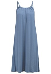 Filippa K Jersey Dress Silver Lake Light Blue