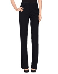 Ermanno Scervino Trousers Casual Trousers Women Dark Blue