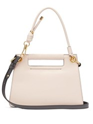 Givenchy The Whip Small Cut Out Leather Cross Body Bag Light Pink