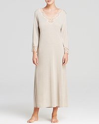 Natori Lhasa Lounger Long Gown Cream