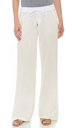 Splendid Wide Leg Pants White