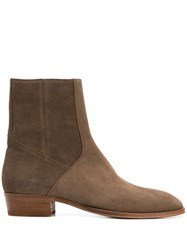 Represent 40Mm Ankle Boots Brown