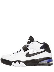 Nike Air Force Max Leather Mid Top Sneakers White
