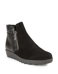 The Flexx Collaps Mixed Media Ankle Boots Black