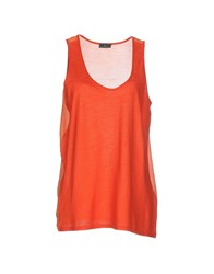 Fred Perry Topwear Tops Women Orange
