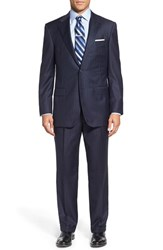 Men's Hickey Freeman 'Beacon B Series' Classic Fit Stripe Wool Suit