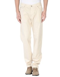 Harmontandblaine Trousers Casual Trousers Men Ivory