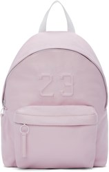 Joshua Sanders Pink Leather '23' Backpack