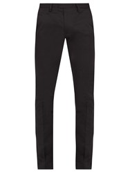 Acne Studios Max Stretch Cotton Chino Trousers Black