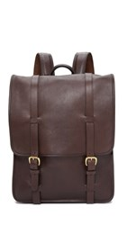 Lotuff Leather Backpack Chocolate