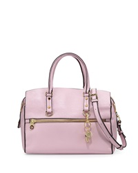 Cynthia Rowley Dylan Leather Satchel Bag Light Pink