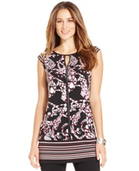 Alfani Cap Sleeve Printed Top Only At Macy's