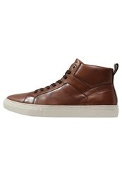 Vagabond Paul Hightop Trainers Cognac