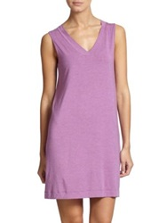 Hanro Champagne Tank Gown Lilac