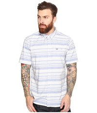 Hurley Froth Short Sleeve Woven Game Royal Men's Clothing Blue
