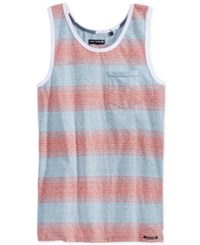 Ocean Current Men's Marlin Stripe Pocket Tank Newport Blue