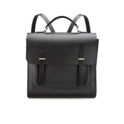 The Cambridge Satchel Company Men's Bridge Closure Backpack Black