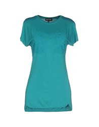 Who S Who Topwear T Shirts Women Green