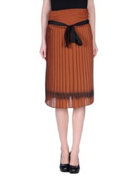 Jucca 3 4 Length Skirts Brown