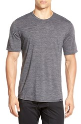 Men's Patagonia Base Layer Merino Wool Blend Performance T Shirt Feather Grey