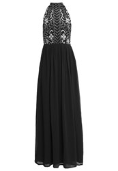 Lace And Beads Snow Occasion Wear Dark Grey Dark Gray