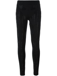 Philipp Plein 'Trouble' Leggings Black