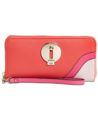 Guess Augustina Boxed Zip Around Wallet A Macy's Exclusive Style Poppy Multi