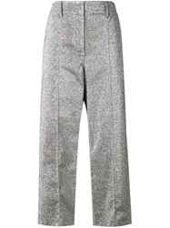 Edun Cropped Trousers Grey