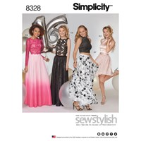 Simplicity Women's Occasion Dress Sewing Pattern 8328