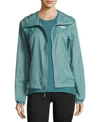 The North Face Cyclone 2 Hooded Track Jacket Green