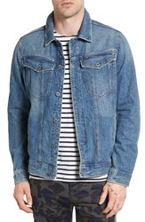 G Star Men's Raw 3301 Slim Fit Denim Jacket