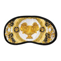 Versace Home Les Coupe Des Dieux Fabric Night Mask Gray White Gold