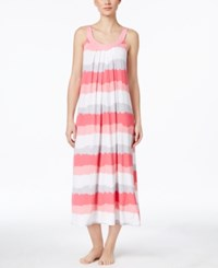 Alfani Scoop Neck Stripe Nightgown Only At Macy's