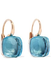 Pomellato Nudo 18 Karat Rose Gold Topaz Earrings