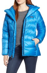 Patagonia Fitz Roy Water Repellent 800 Fill Power Down Parka Lapiz Blue