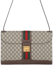 Gucci Gg Supreme Slim Messenger Bag